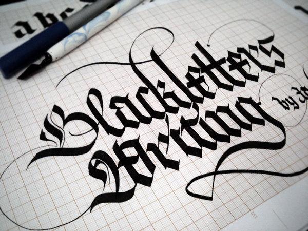 amazing lettering fonts