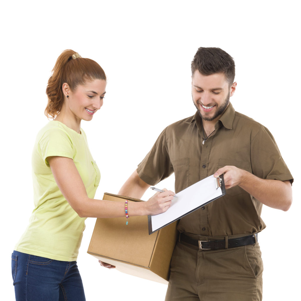 Next day delivery courier